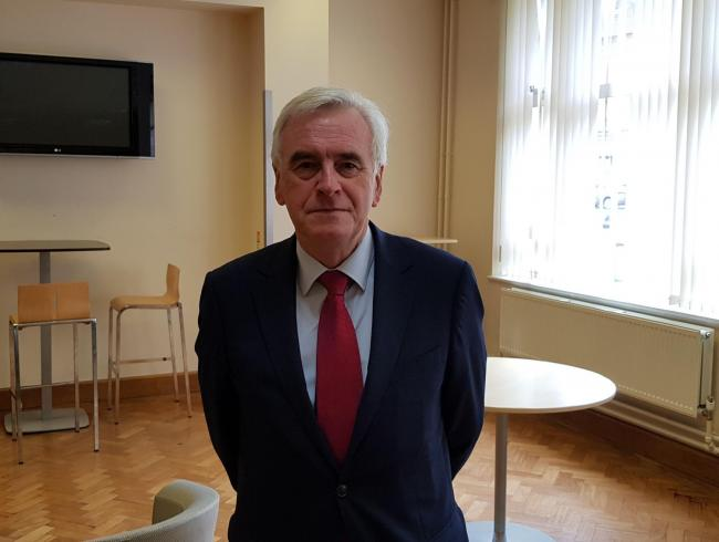 John McDonnell said Labour hopes to introduce an employment allowance support to assist businesses struggling to pay staff a living wage
