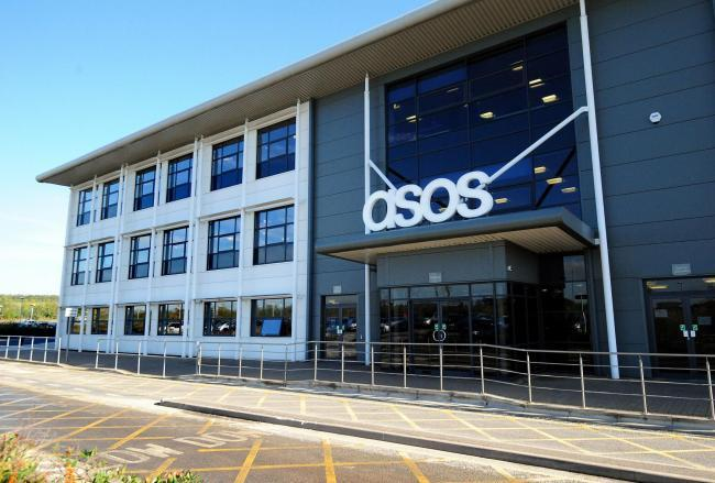 ASOS employees at its customer care centre in Leavesden were notified yesterday morning