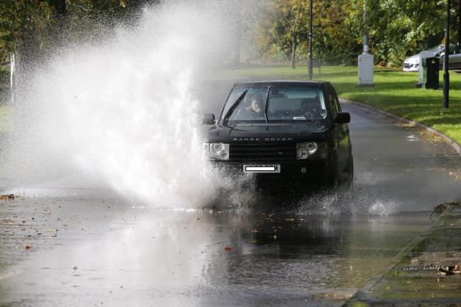 Flooding is possible ahead of a spell of wet weather