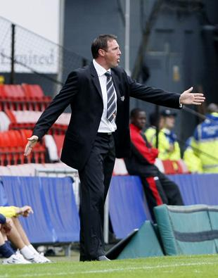 Malky Mackay. Picture: Holly Cant
