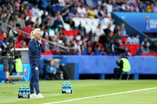 Scotland head coach Shelley Kerr was critical of the officiating during her side's draw with Argentina