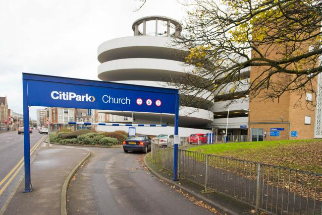 Church CitiPark car park in Watford (photo Richard Walker)