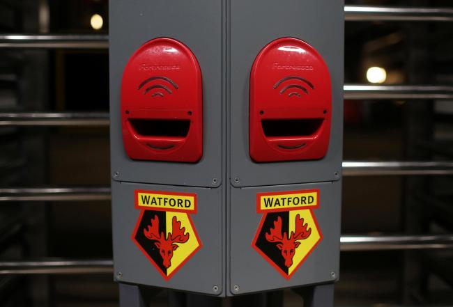 Watford may adopt a new crest for the 2020/21 season. Picture: Action Images