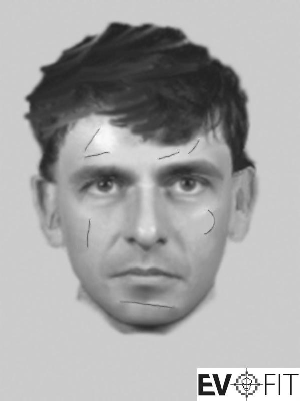 An E-Fit image has been released of a man police want to identify