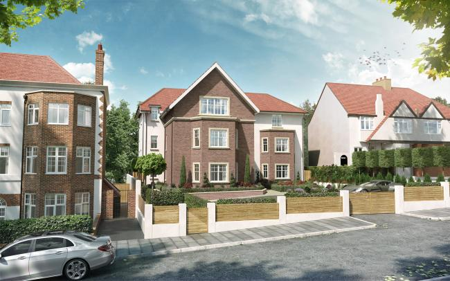 LUXURY NEW HOMES LAUNCH OFF PLAN IN FINCHLEY