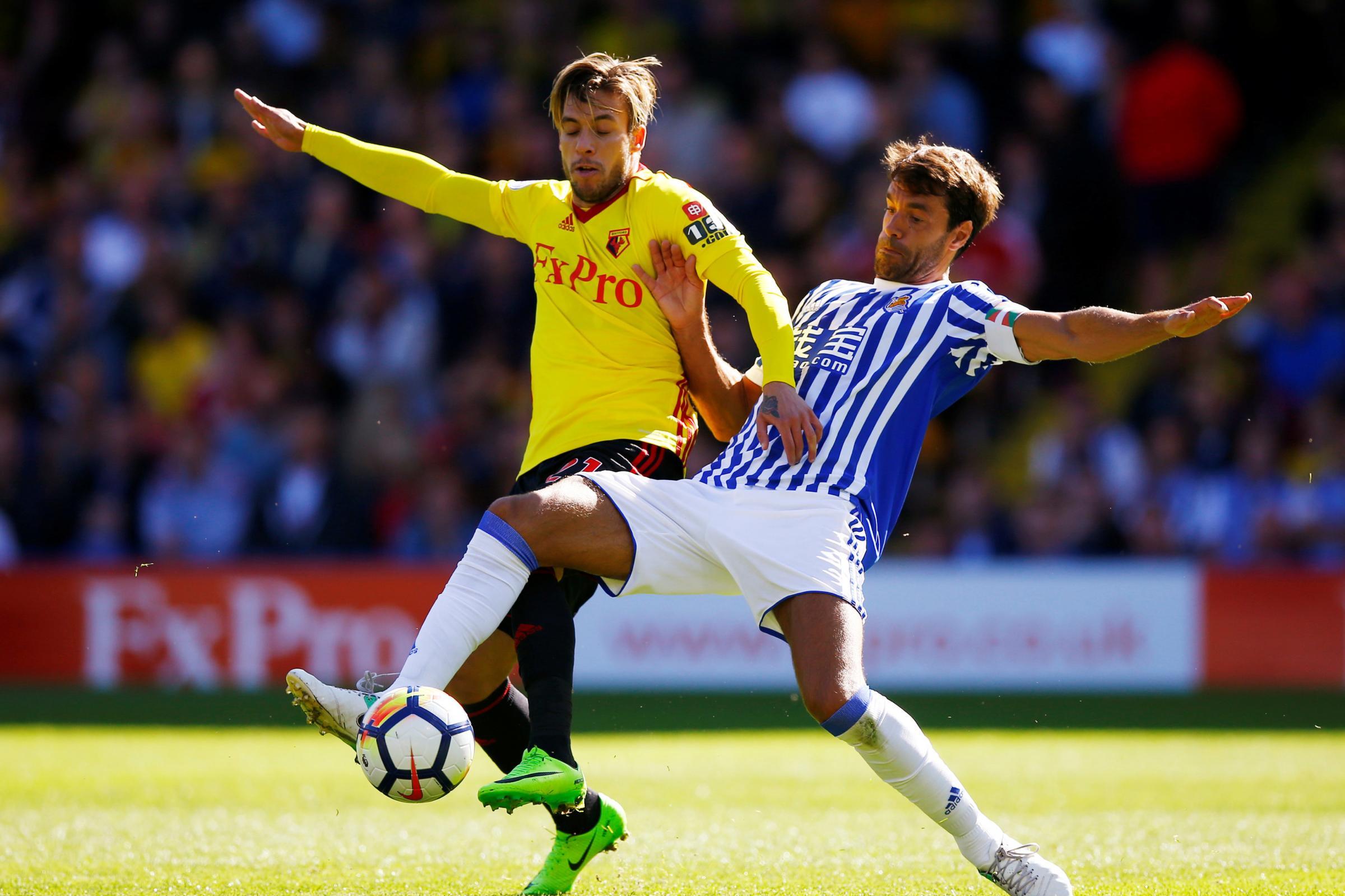 Watford will face Real Sociedad in the Graham Taylor Matchday at Vicarage Road