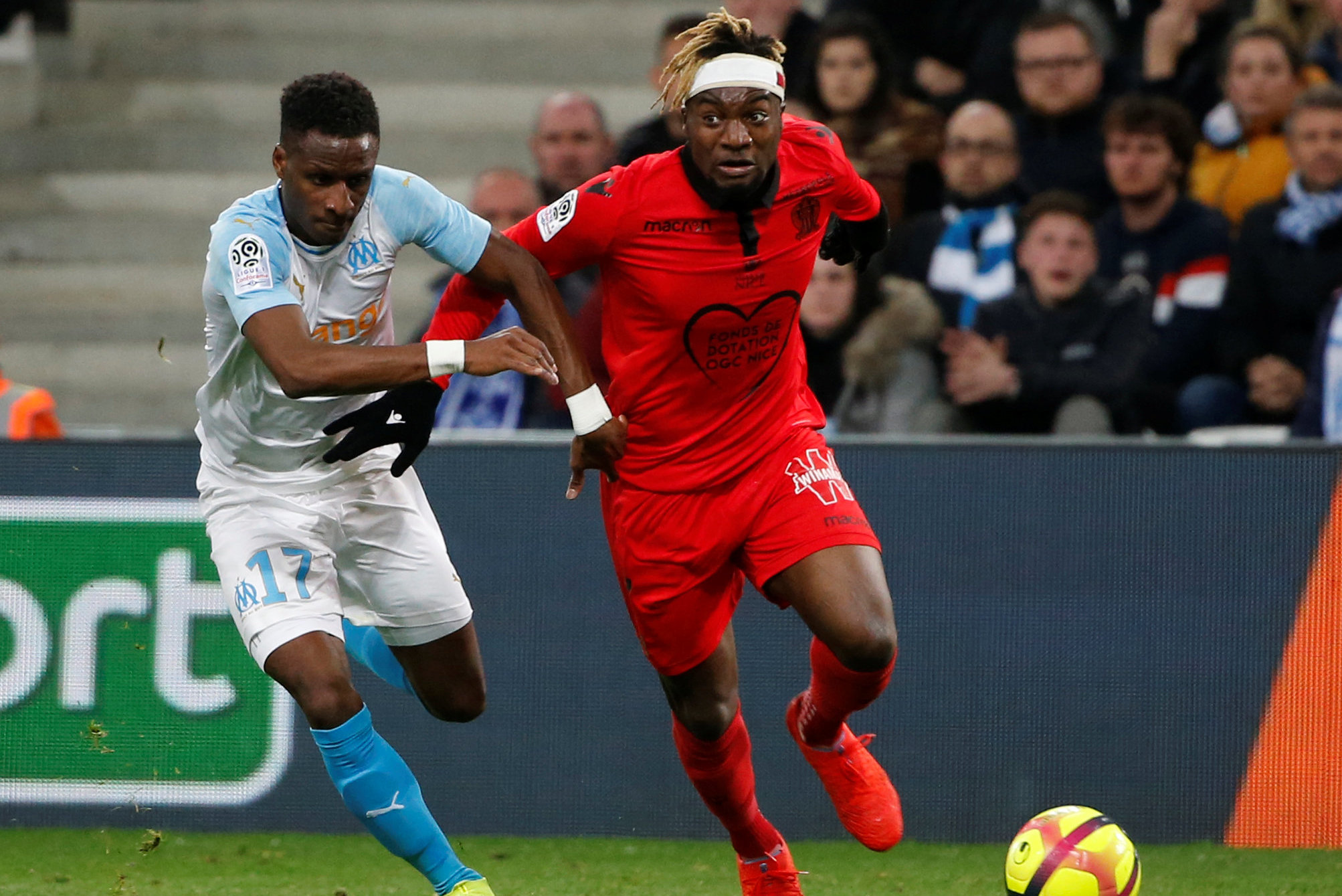 Reports link Watford with Nice winger Allan Saint-Maximin