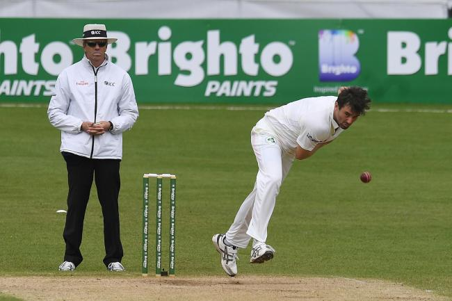 Tim Murtagh took 5-44 as Middlesex secured a much-needed victory. Picture: Action Images