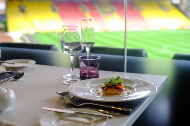 Watford FC were recognised as having the Premier League's best matchday hospitality