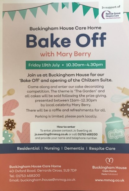 BAKE OFF with Mary Berry