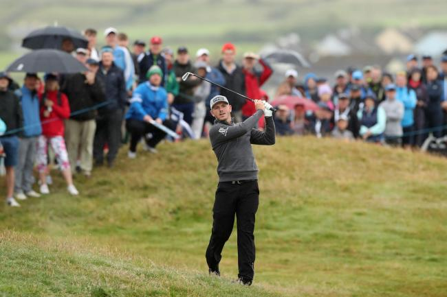 Matt Wallace has been named in one of the marquee groups at The Open. Picture: Action Images