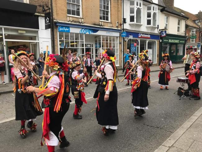 The Rickmansworth Folk Festival took place on July 13