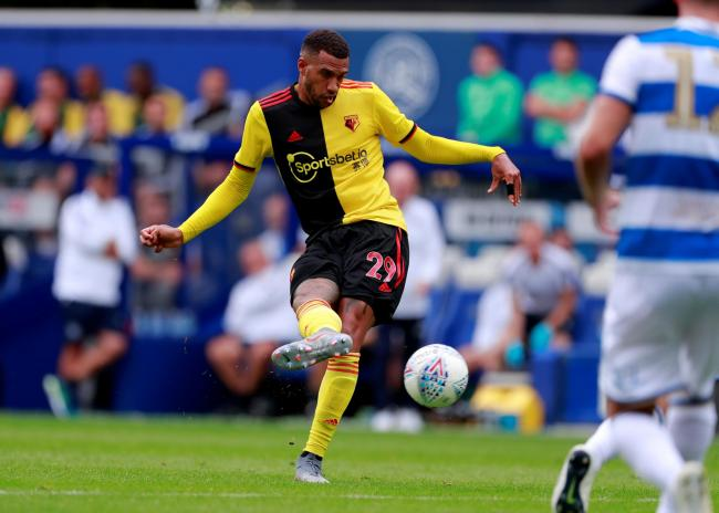 Etienne Capoue scored the only goal of the game as Watford beat QPR. Picture: Action Images