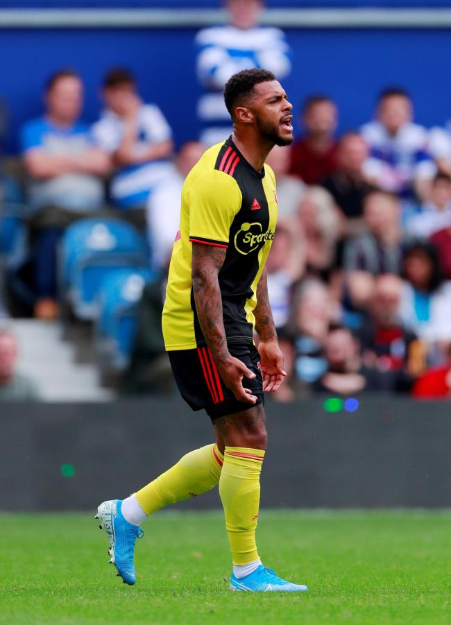Andre Gray continued his good pre-season scoring form. Picture: Action Images