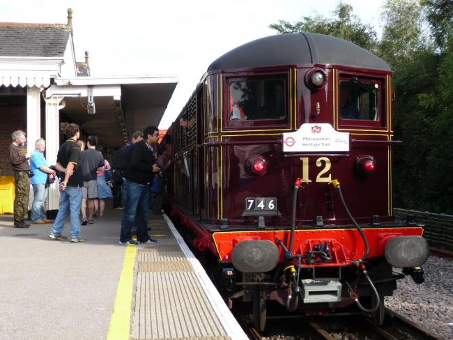 The Sarah Siddons on a recent outing at Amersham station
