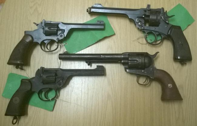 The national firearms surrender campaign proved to be succesful. Credit: Herts Police