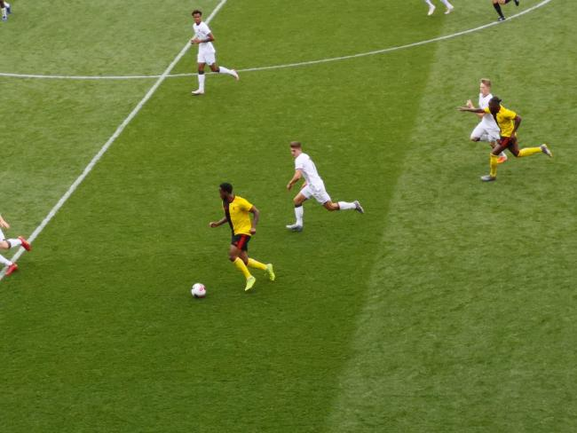 Watford comfortably beat Hull U23s at Vicarage Road.