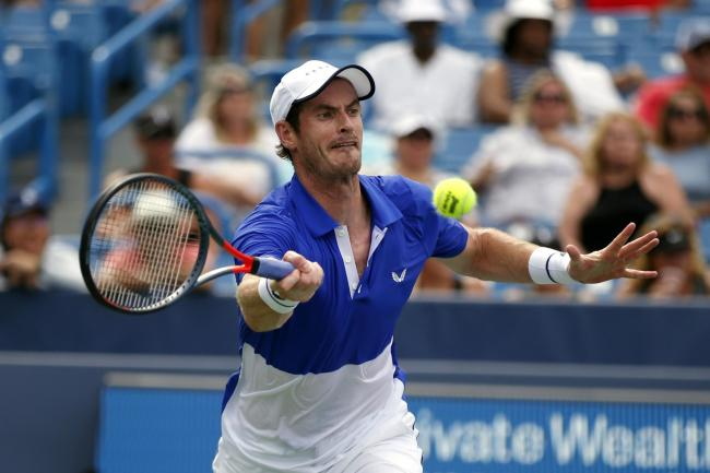 Andy Murray played his first singles match since having a metal place inserted into his hip