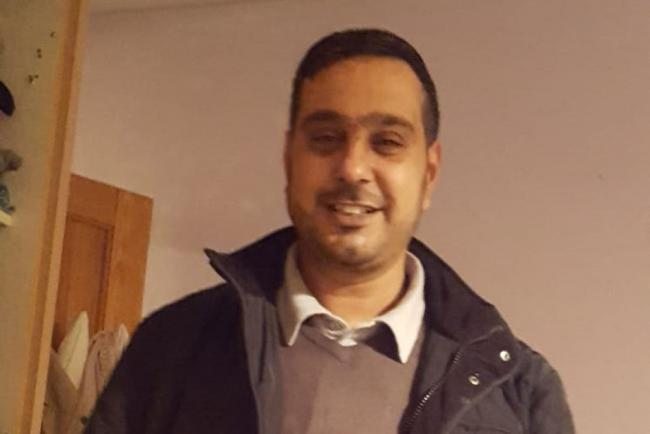 Sajed Choudry, who was attacked in Blackburn in November 2018