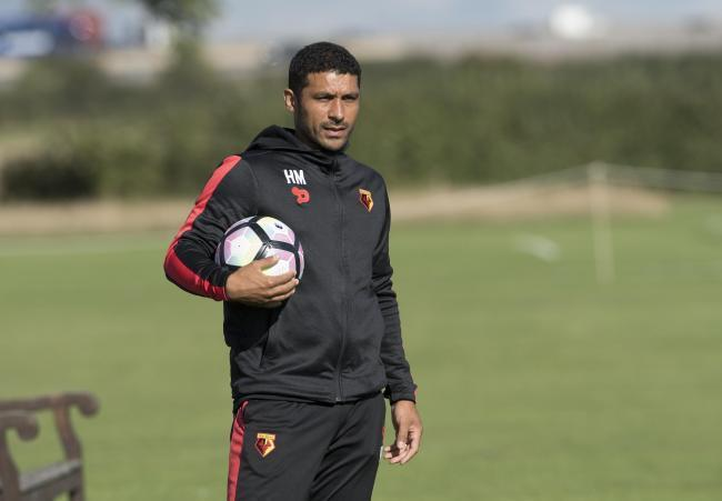 Watford Under 23s lead development coach Hayden Mullins.