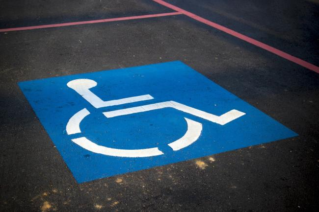 Blue badge permits can now be granted to people with non-visible disabilities. Credit: Pixabay