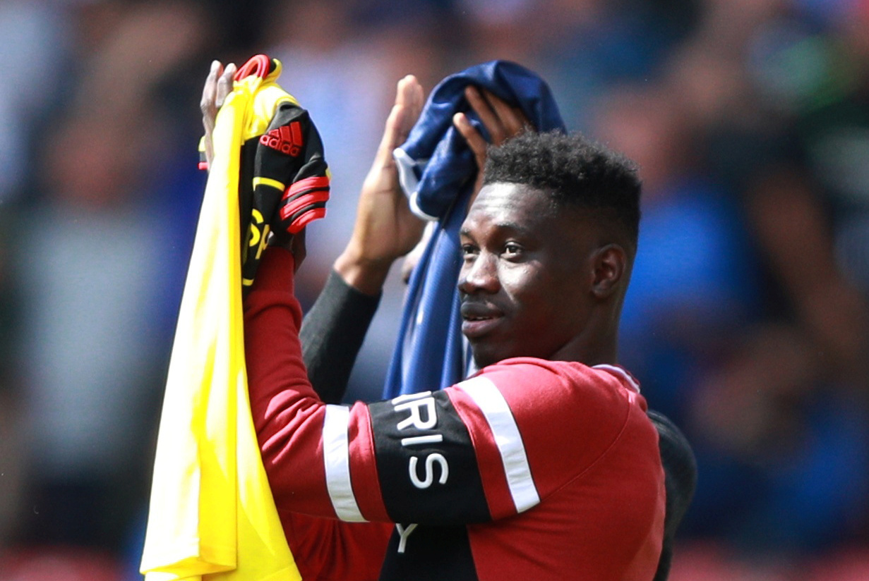 Etienne Capoue excited by Ismaila Sarr's first Watford training session