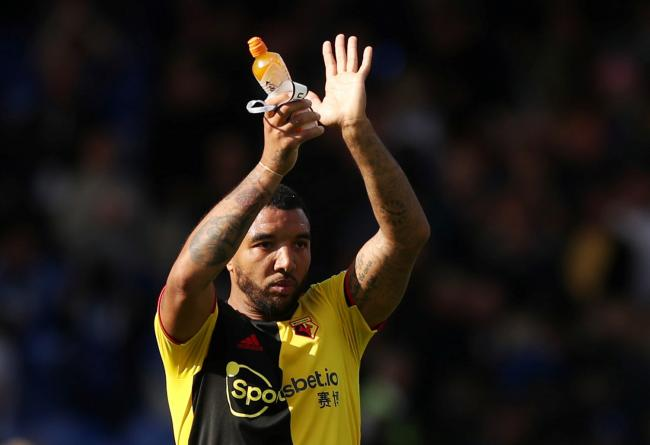 Troy Deeney is recovering from knee surgery. Picture: Action Images