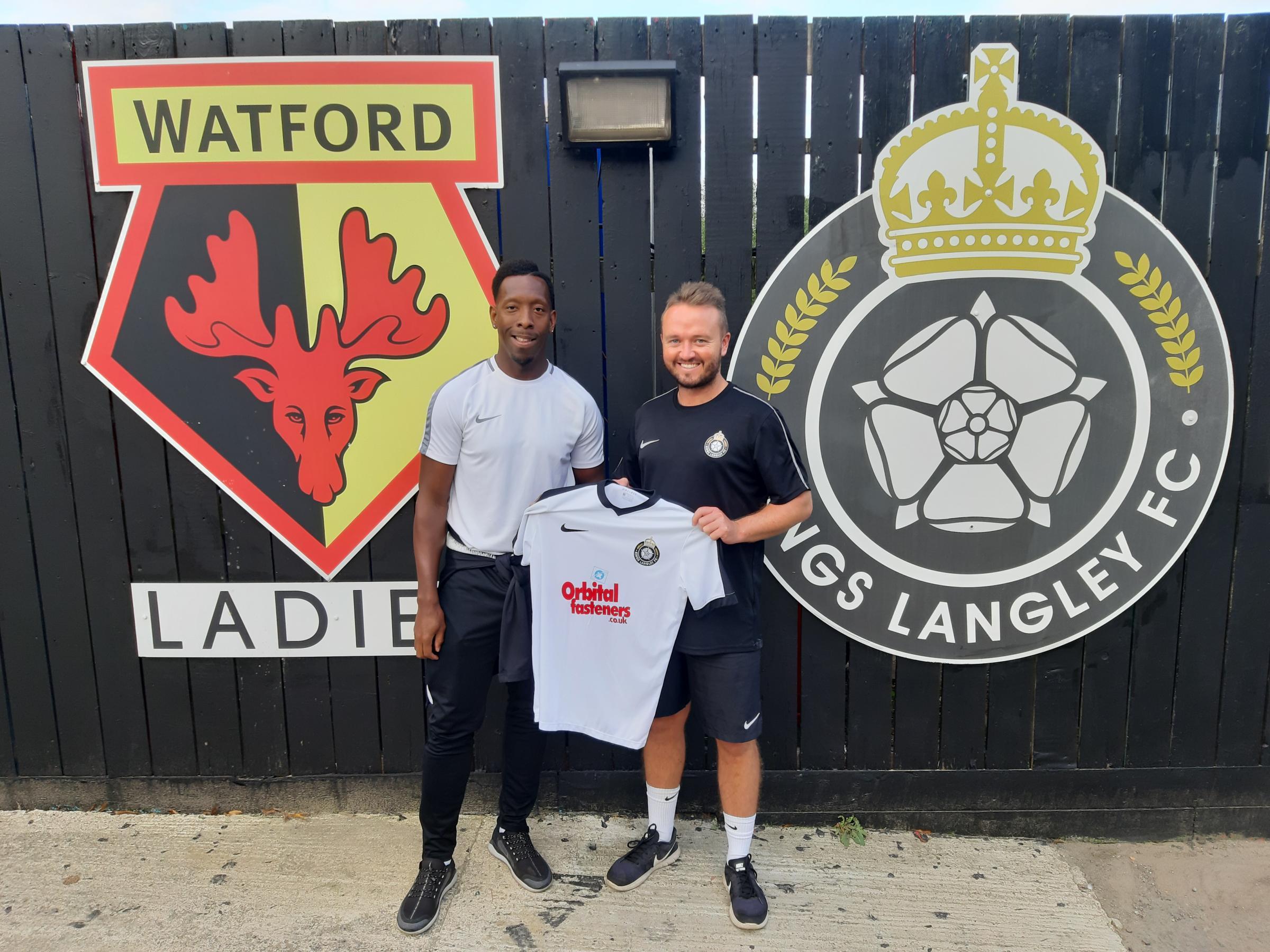 Watford legend Lloyd Doyley signs for Kings Langley