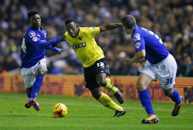 Lloyd Doyley in action for Watford. Picture: Action Images