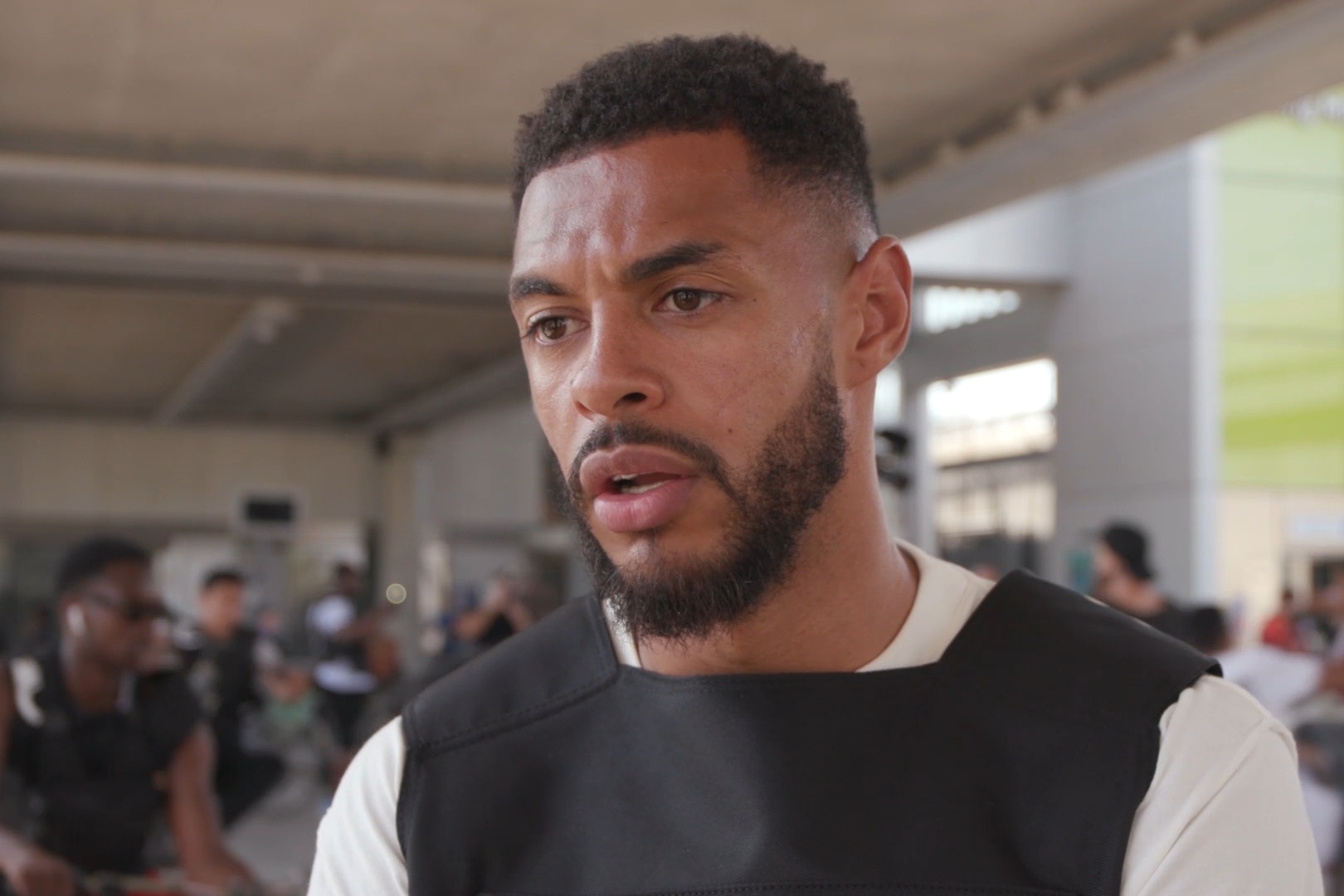 Watford star joins young bikers for anti-knife crime protest