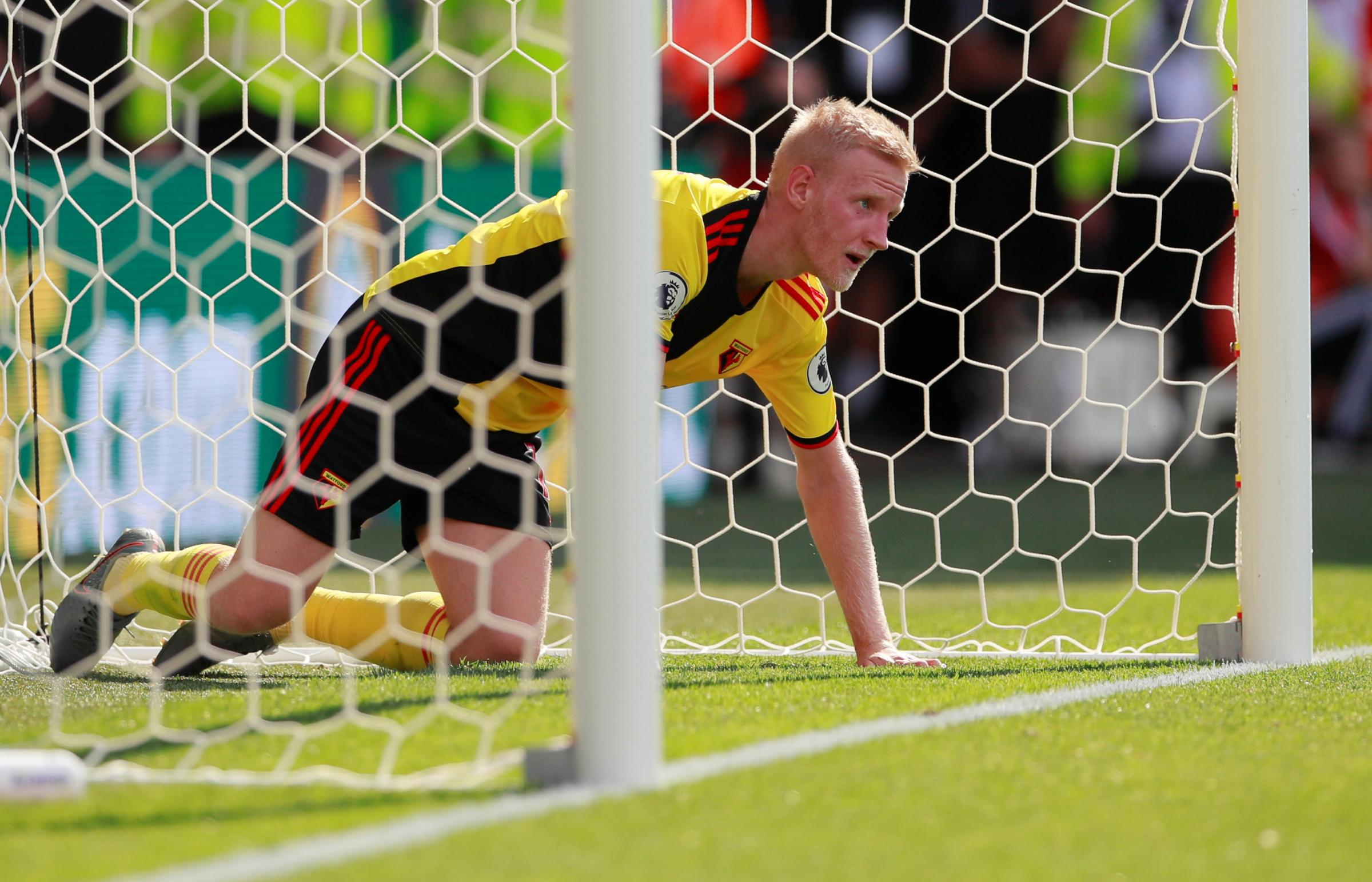 A selection of images from Watford's defeat to West Ham United