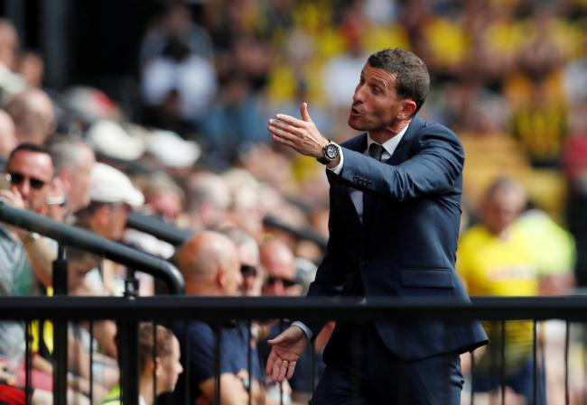 Javi Gracia during Watford's defeat to West Ham. Picture: Action Images
