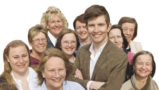 Gareth Malone and his choir head for Watford Colosseum