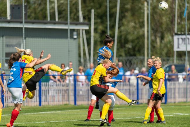 Watford lost to Portsmouth in the FA WNL Cup. Picture: Andrew Waller