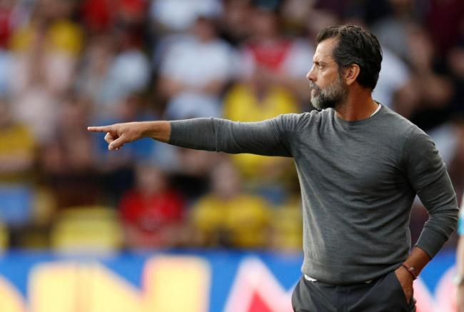 Quique Sanchez Flores during his first game back at Watford. Picture: Action Images