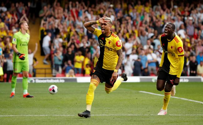 Watford scored two second-half goals to come from behind and earn a point. Picture. Action Images