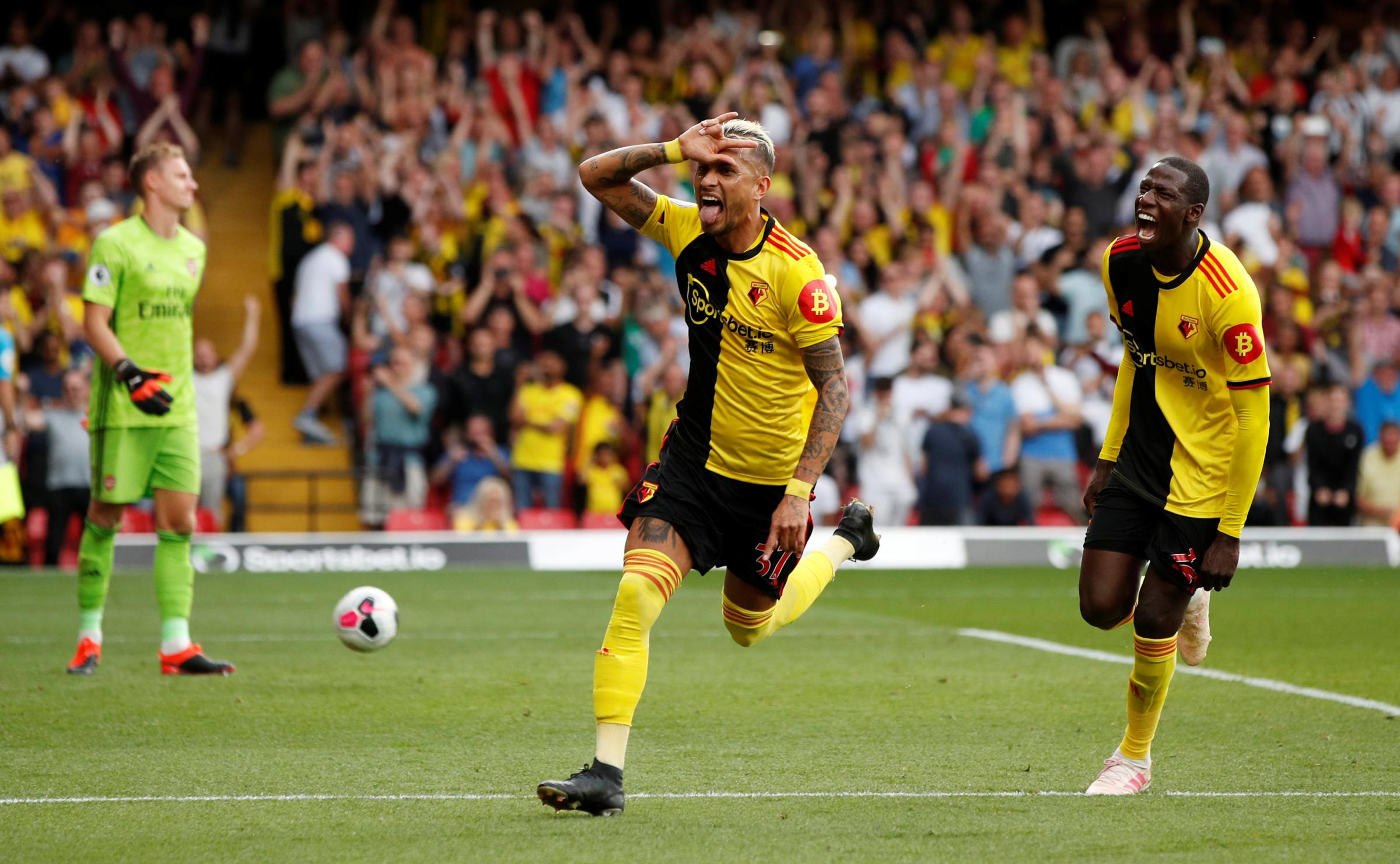 Watford players show grit in comeback against Arsenal