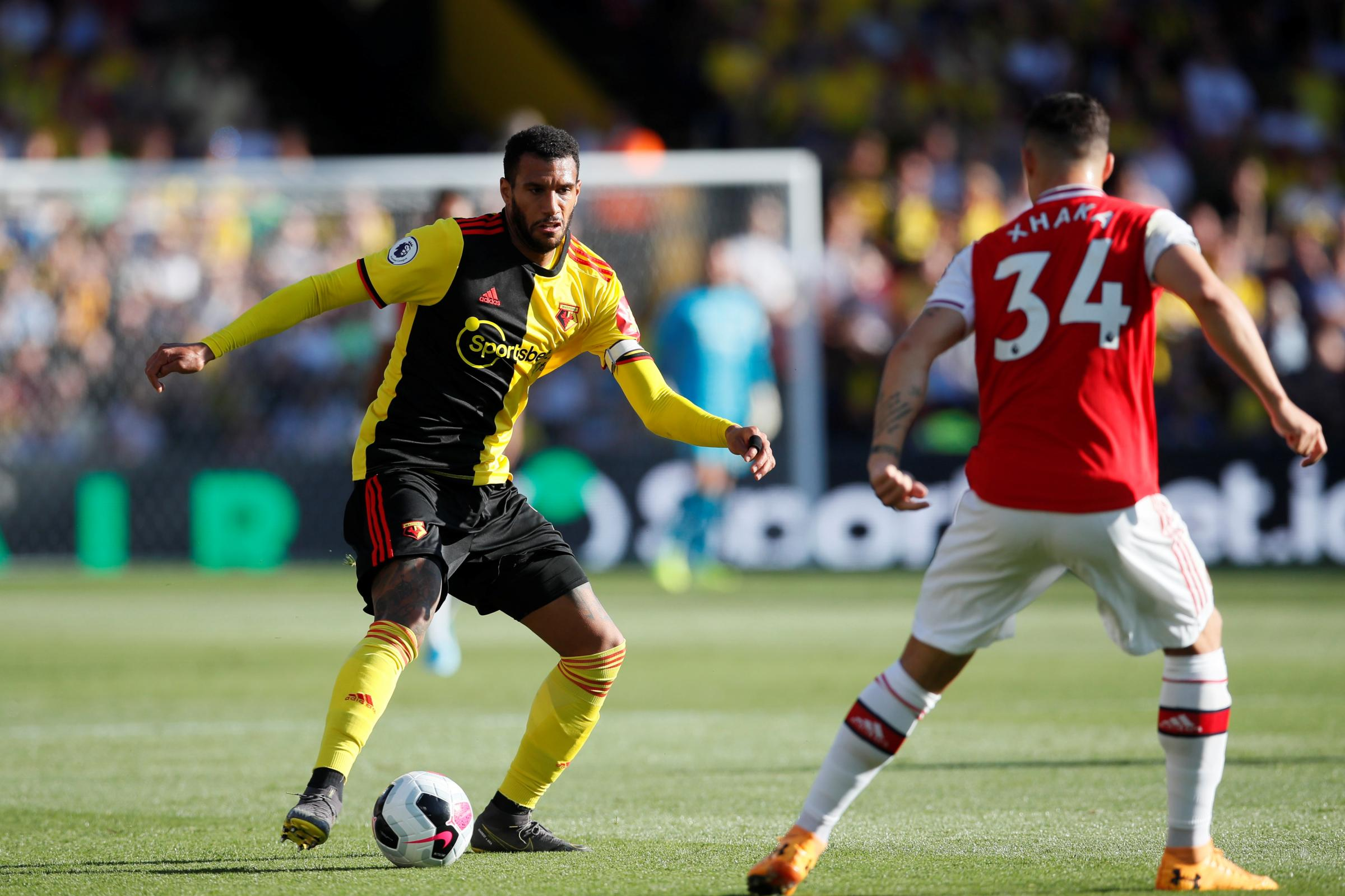 Etienne Capoue and Sebastian Prodl are both injured for Watford's game with Tottenham Hotspur