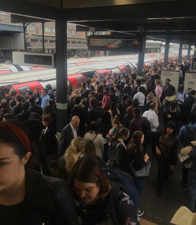 Delays continue, causing disruptions as seen when signalling failures were installed