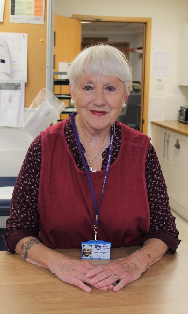 Pat Slaughter, 82, is this week's Watford Observer Community Hero photo: Peace Hospice Care