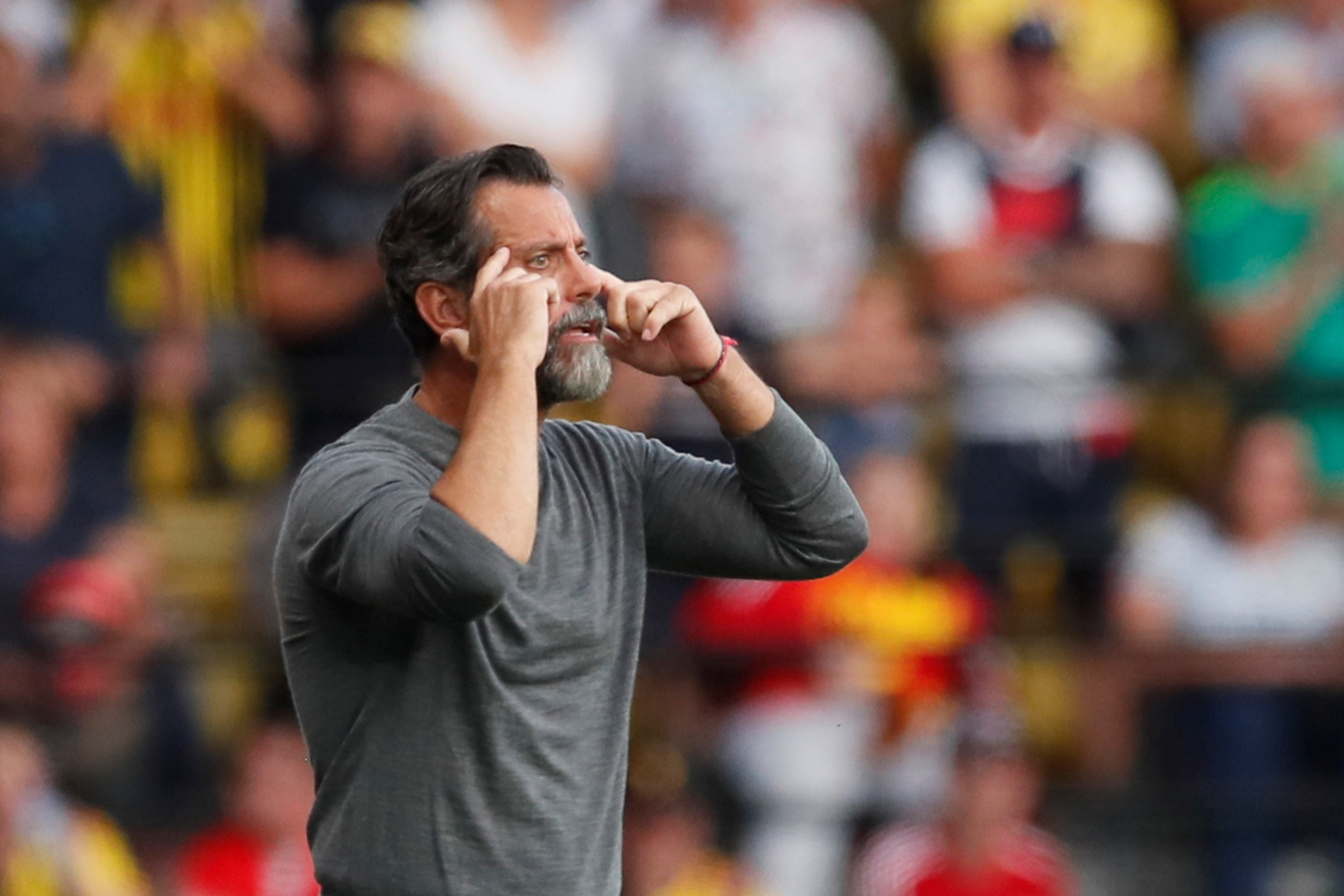 Quique Sanchez Flores wants Watford to move forward from Arsenal draw