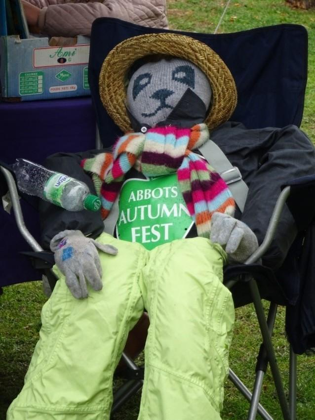 Abbots Langley autumnfest took place last weeked photo: Three Rivers District Council