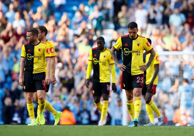 Dismal Watford heavily defeated as City run riot. Picture: Action Images