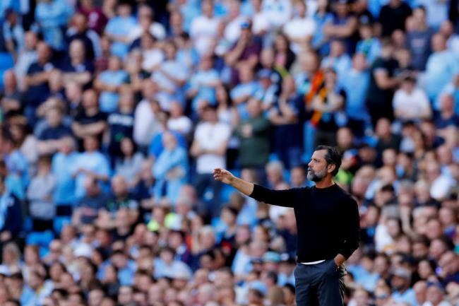 Quique Sanchez Flores apologised to Watford fans who travelled to Manchester City. Picture: Action Images