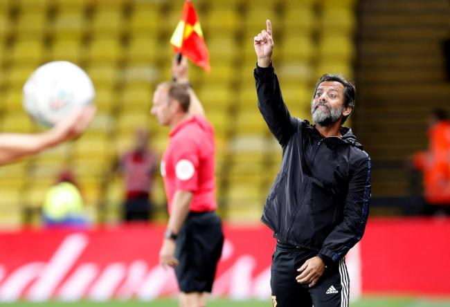 Quique Sanchez Flores got his first win after returning to Watford. Picture: Action Images