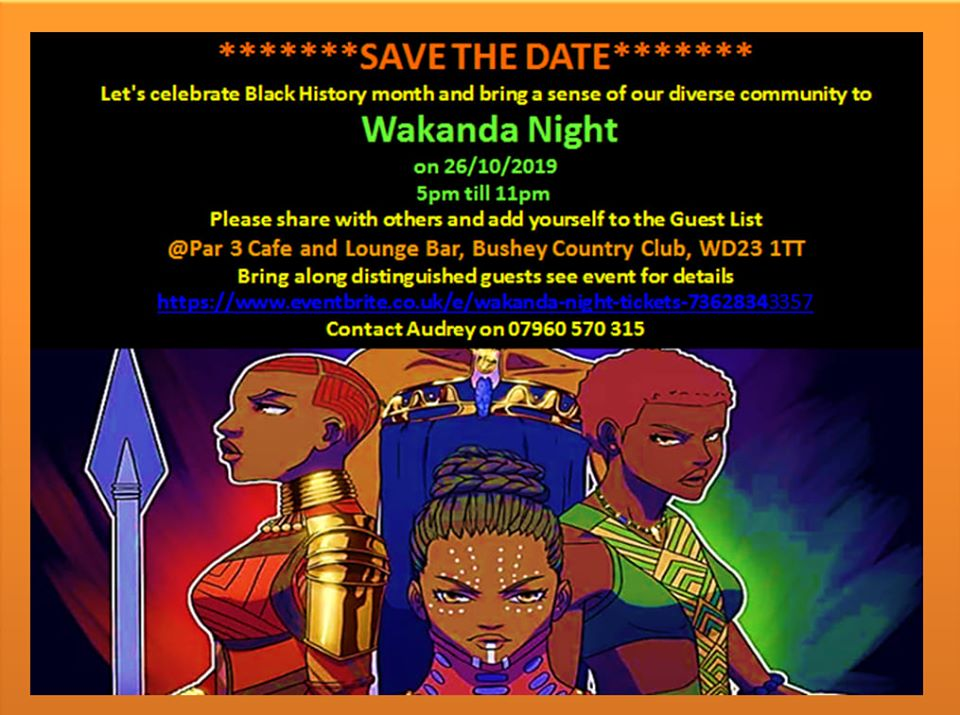 Wakanda Night
