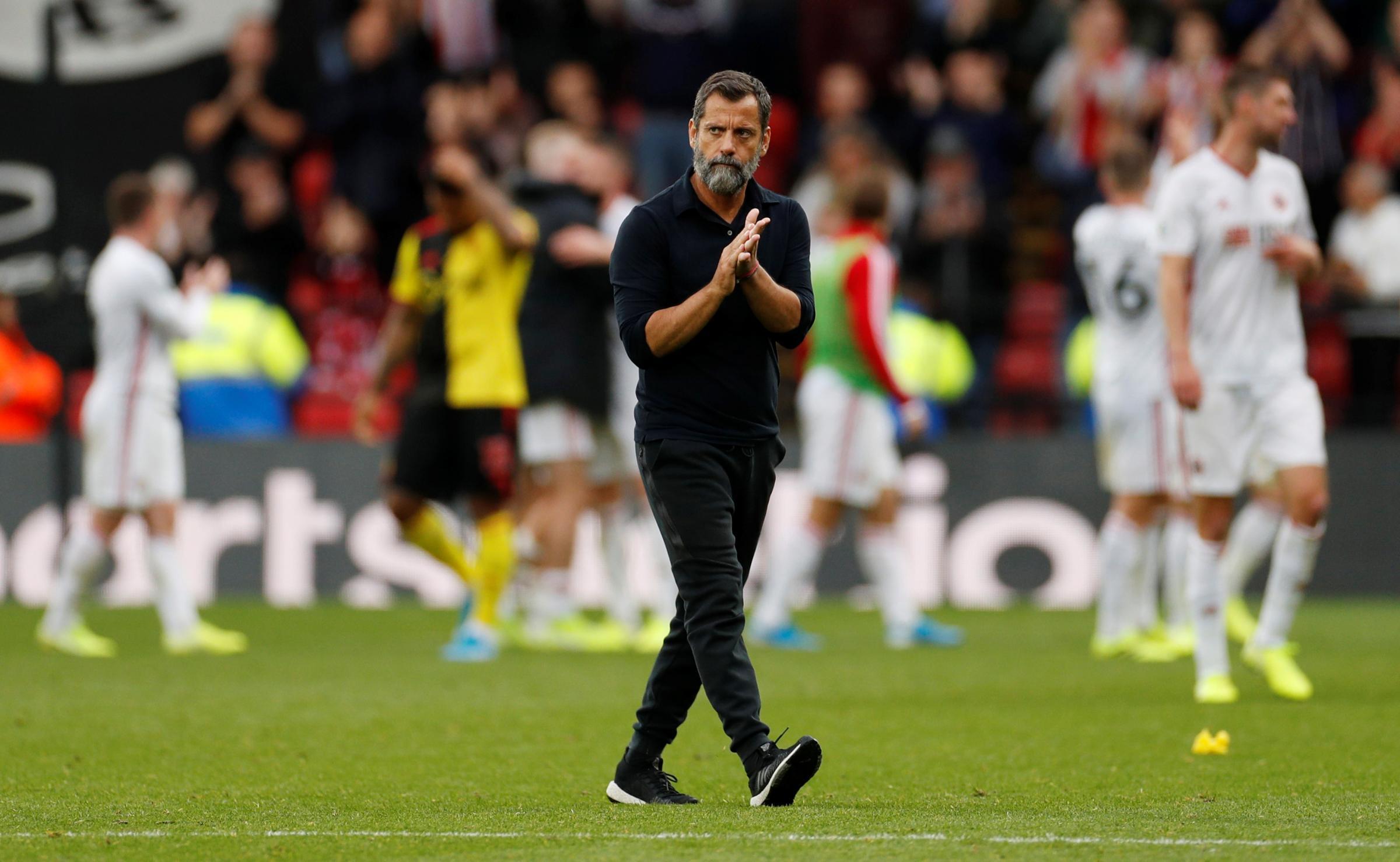 Quqiue Sanchez Flores feels a more confident Watford would have beaten Sheffield United
