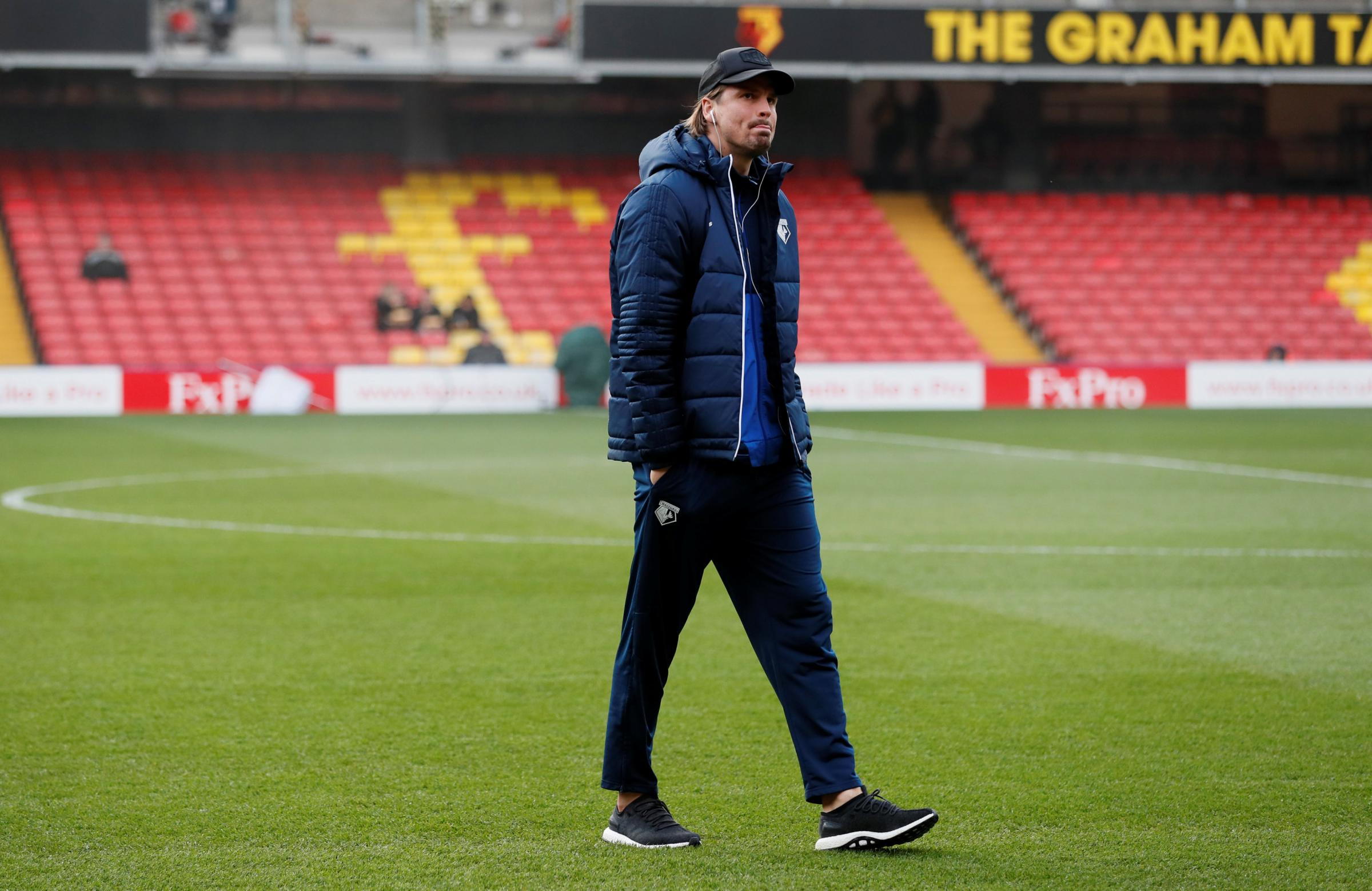 Sebastian Prodl has said he felt invisible during time out of Watford team