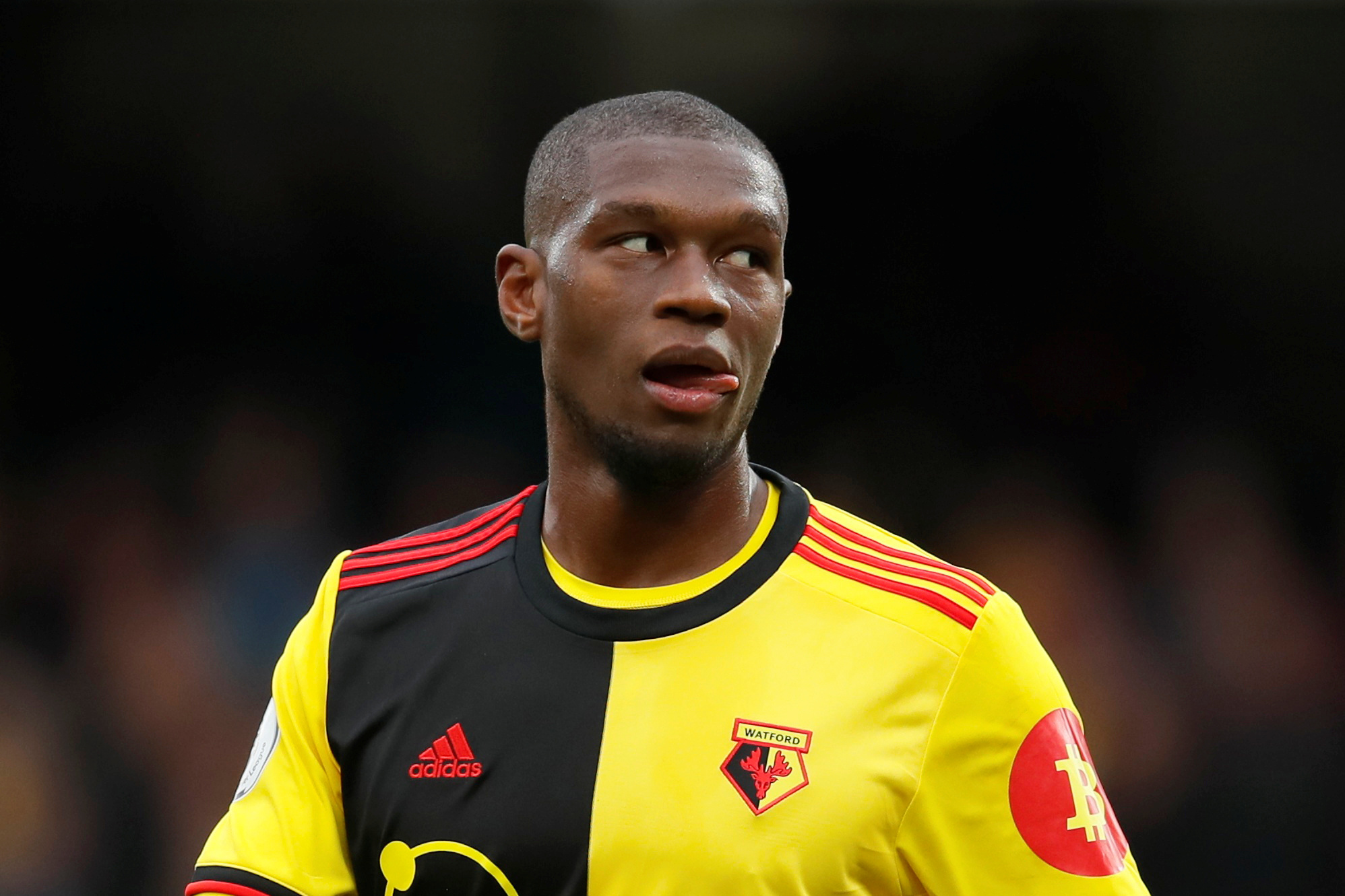 Watford report racist abuse sent to Christian Kabasele to Hertfordshire Police