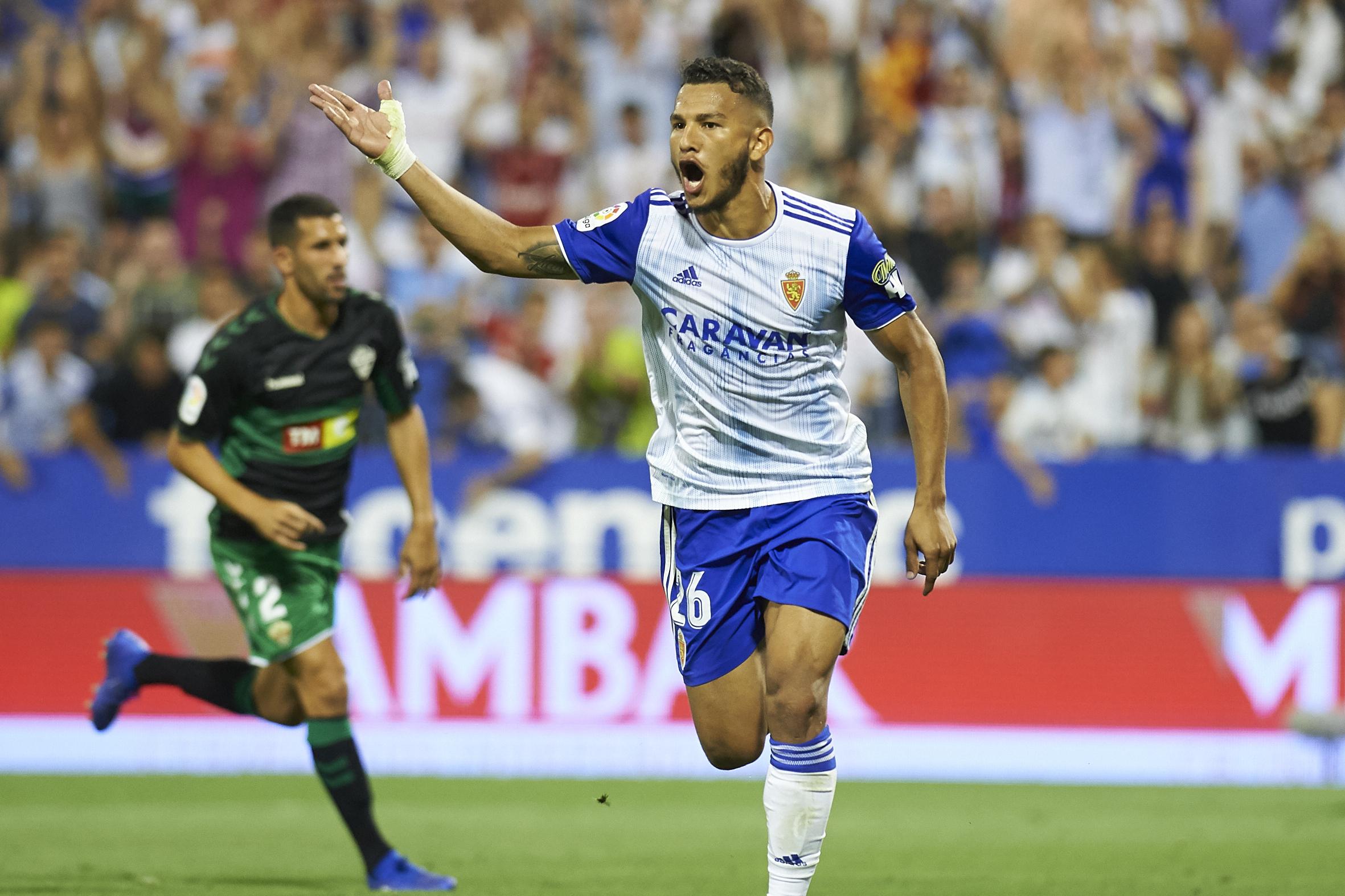 Watford forward Luis Suarez could not continue his scoring streak in Real Zaragoza's defeat to Cadiz